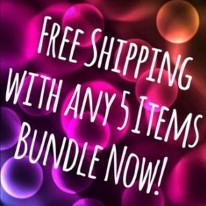 Other - Free shipping when you purchase five or more items
